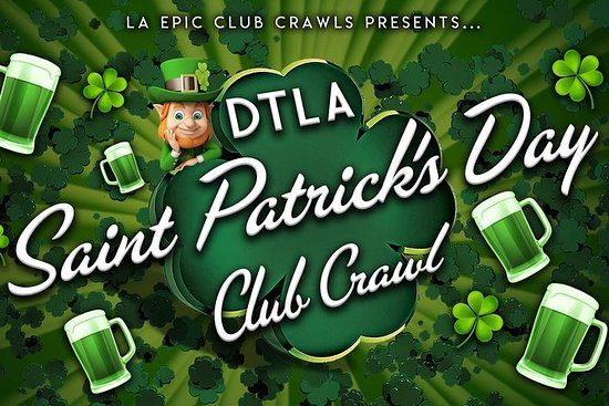 2019 St Patrick's Day Downtown LA ...