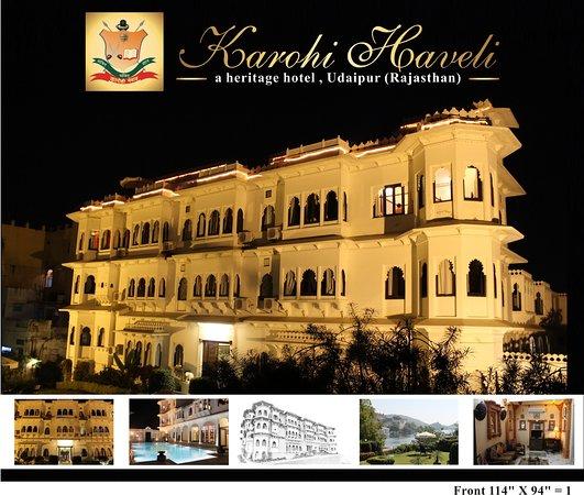 Karohi Haveli, hôtels à Udaipur