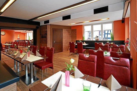 Ohningen, Γερμανία: Restaurant, auch ideal für Gruppen und Familienfeiern