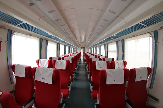 Kenya Railways: First Class: SGR Madaraka Express Train