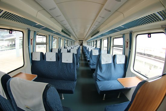 Kenya Railways: Second Class: SGR Madaraka Express Train
