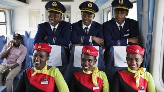 Kenya Railways: Crew: SGR Madaraka Express Train