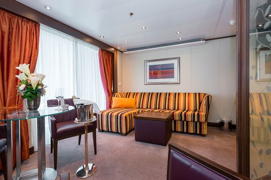 The Penthouse Suite on Seabourn Quest