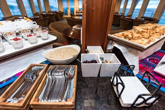 Continental Breakfast on Safari Voyager