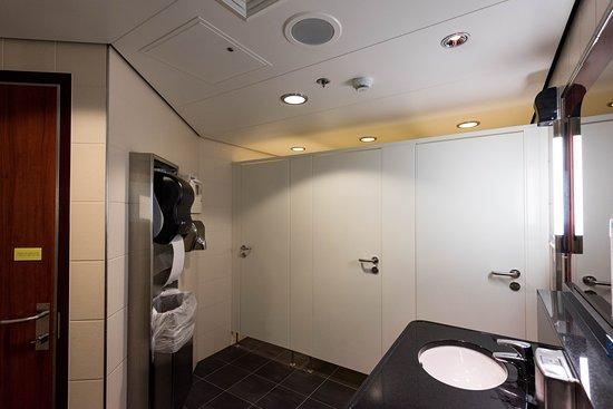 Public Restroom on Norwegian Pearl