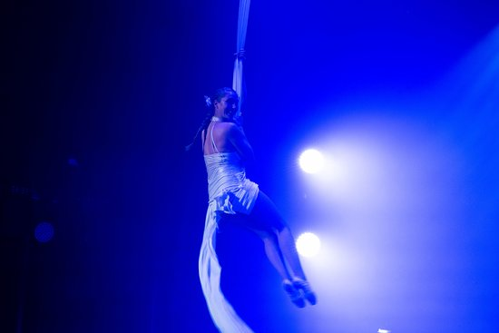 Aerialist Show at Stardust Theater on Norwegian Pearl