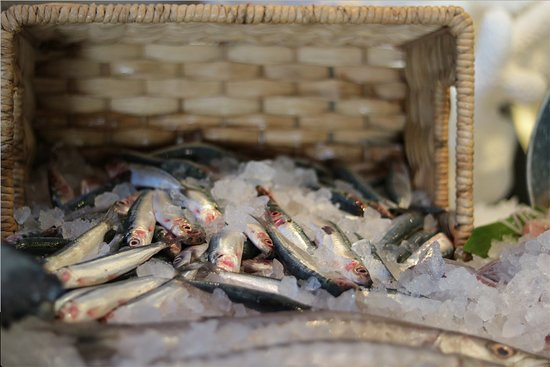 InterContinental Hotel's Fish Market: sardin