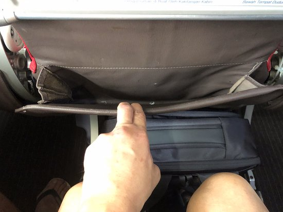 Malindo Air: Seat pocket
