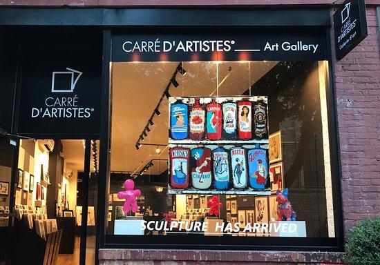 Carré d'Artistes Art Gallery New York Soho
