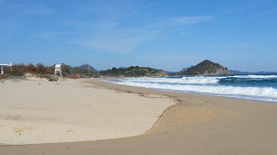 Sardinie, Itálie: Cala Sinzias
