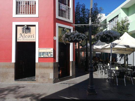 Espectacular comida en Galdar