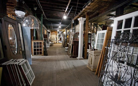 White River Junction, VT: Vermont Salvage Warehouse