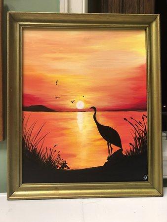 Parksley, VA: Paint night classes