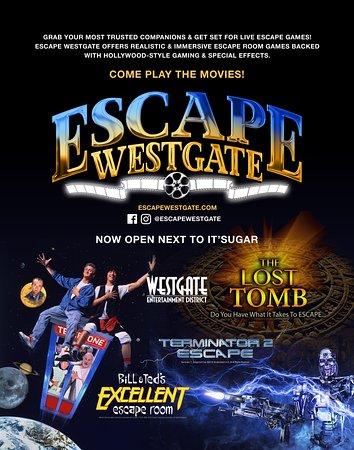 Escape Westgate is NOW OPEN!
