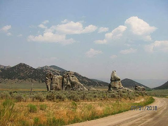 City Of Rocks National Reserve: rock formations