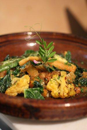 Zatar: winter vegetable vegetable tagine