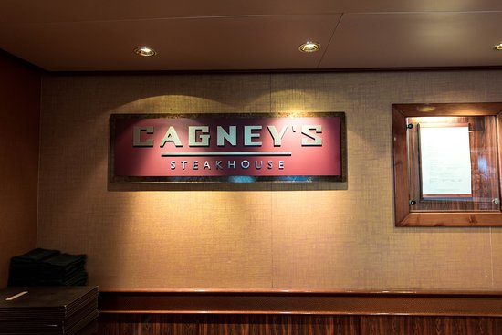 Cagney's Steakhouse on Norwegian Pearl