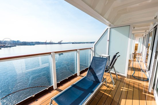 The Aft-Facing Balcony Cabin on Norwegian Pearl