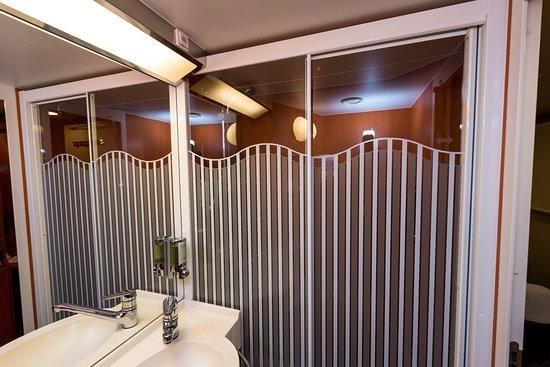 The Family Inside Cabin on Norwegian Pearl