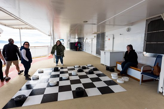 Giant Checkers on Norwegian Pearl