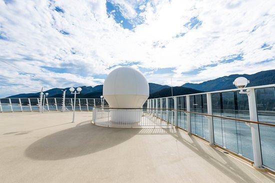 The Sun Deck on Norwegian Pearl
