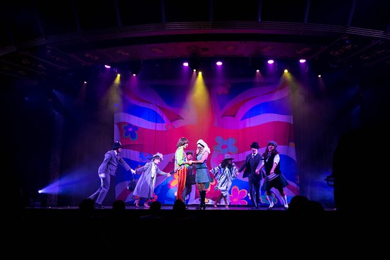"""""""The Brits!"""" at The Follies Main Show Lounge on Carnival Legend"""