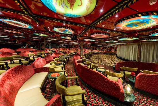 Firebird Lounge on Carnival Legend