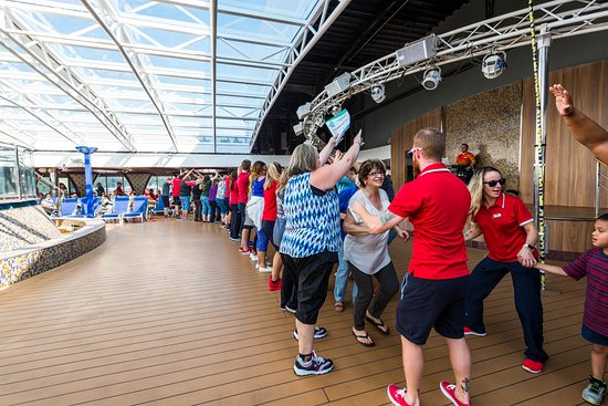 Sail-Away on Carnival Legend