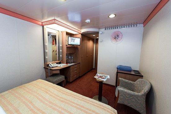 The Interior Cabin on Carnival Legend