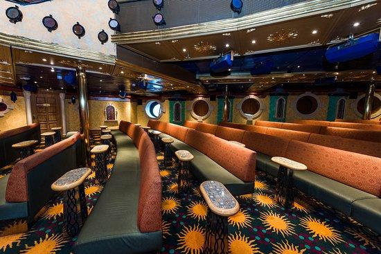 Follies Main Show Lounge on Carnival Legend