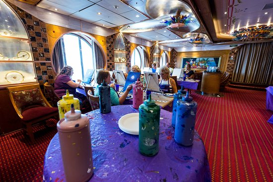 Creative Cove in The Private Club Dining Room on Carnival Legend
