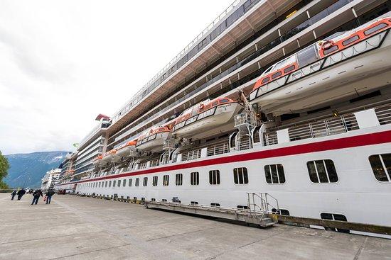 Ship Exterior on Carnival Legend