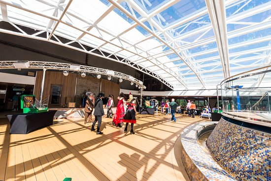 Frontier Deck Party on Carnival Legend