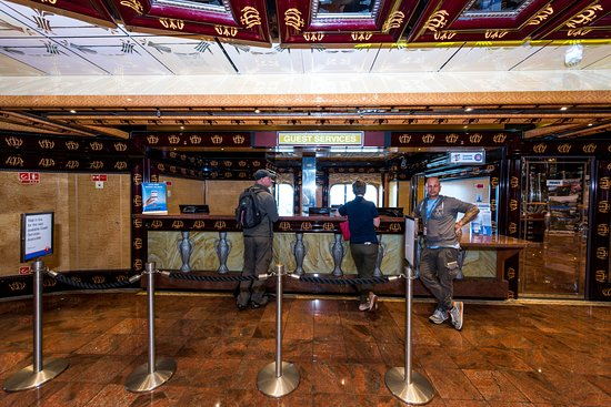 Guest Services on Carnival Legend
