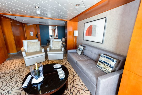 The Royal Suite on Celebrity Summit