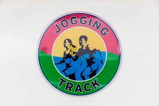 Jogging Track on Norwegian Jade