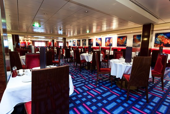 Alizar Dining Room on Norwegian Jade