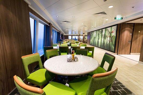 Garden Cafe on Norwegian Jade