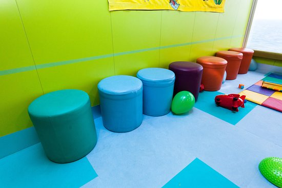 Guppies Playroom on Norwegian Jade