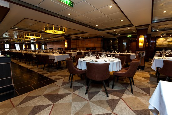 Cagney's Steakhouse on Norwegian Jade