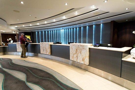Guest Services Desk on Norwegian Jade