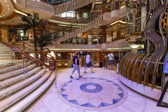 Atrium on Coral Princess