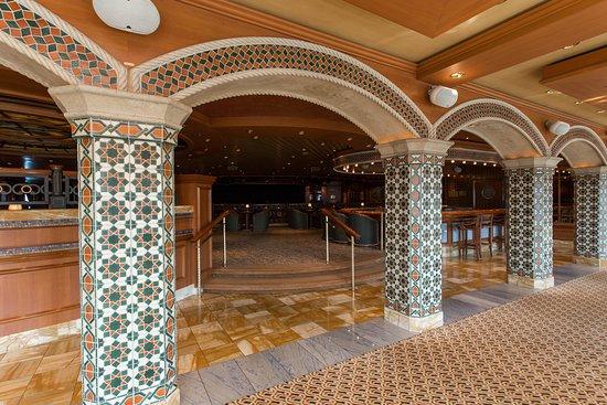 Explorers Lounge on Coral Princess