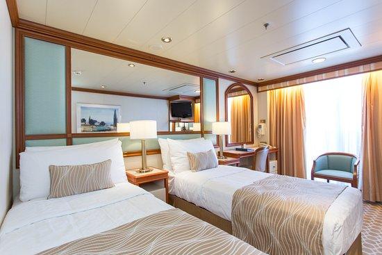 The Premium Balcony Cabin on Coral Princess
