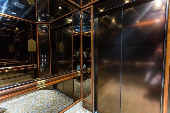 Elevators on Coral Princess