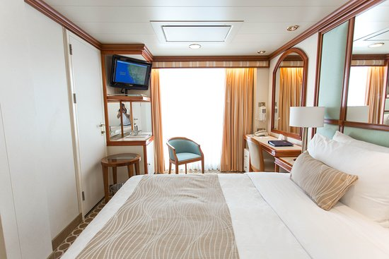 The Balcony Cabin on Coral Princess