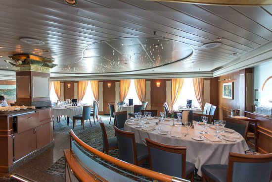 Bordeaux Dining Room on Coral Princess