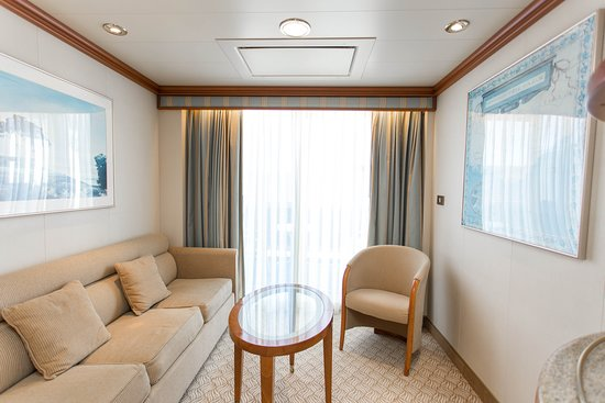 The Club Class Mini-Suite on Coral Princess