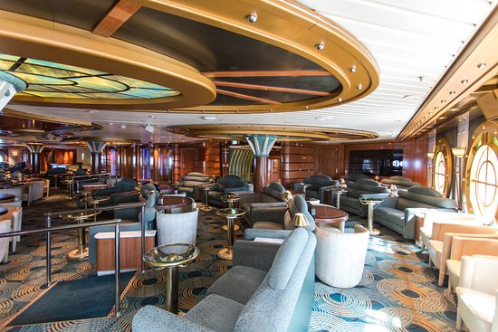 The Universe Lounge on Coral Princess