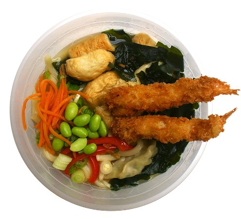 prawn tempura udon